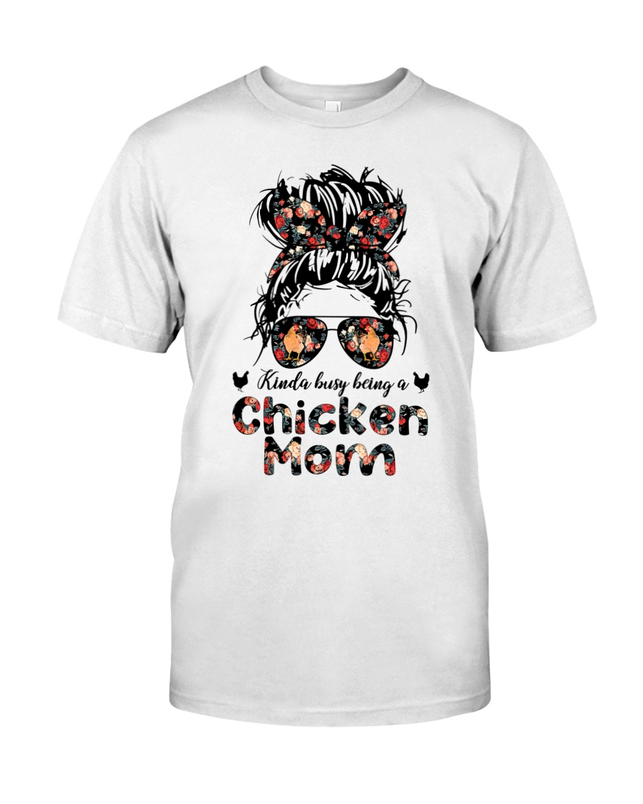 Kinda busy being a chicken mom shirt 2