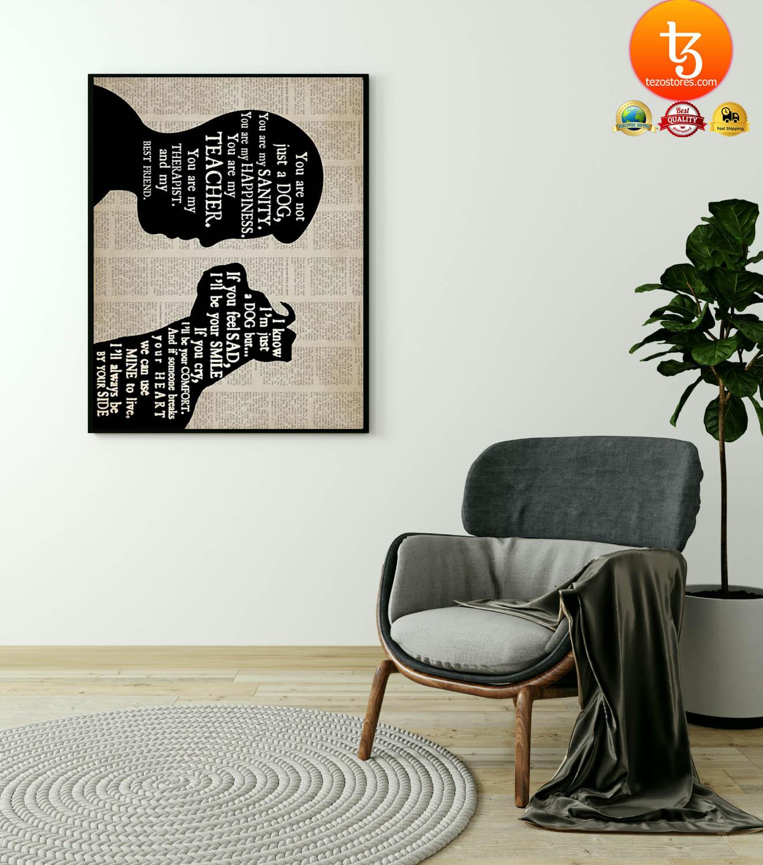 Pitbull boy therapist best friend poster 19
