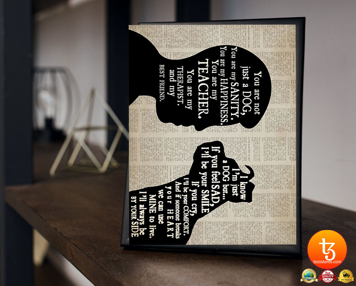 Pitbull boy therapist best friend poster 23