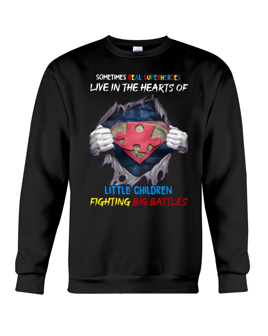 Sometimes Real Super heroes Live In The Hearts Of Little Children Shirt 25