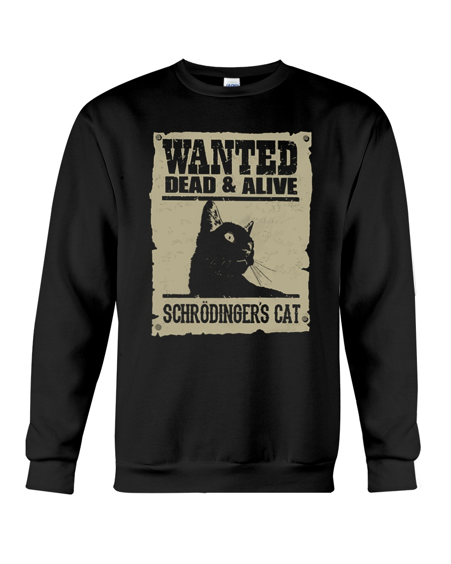 Wanted Dead And Alive Schrodingers Cat Shirt 4