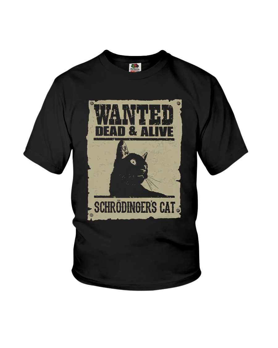 Wanted Dead And Alive Schrodingers Cat Shirt 3