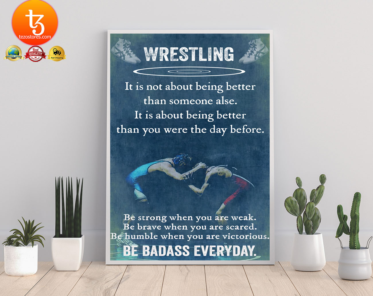 Wrestling it is not about being better than someine else poster 21