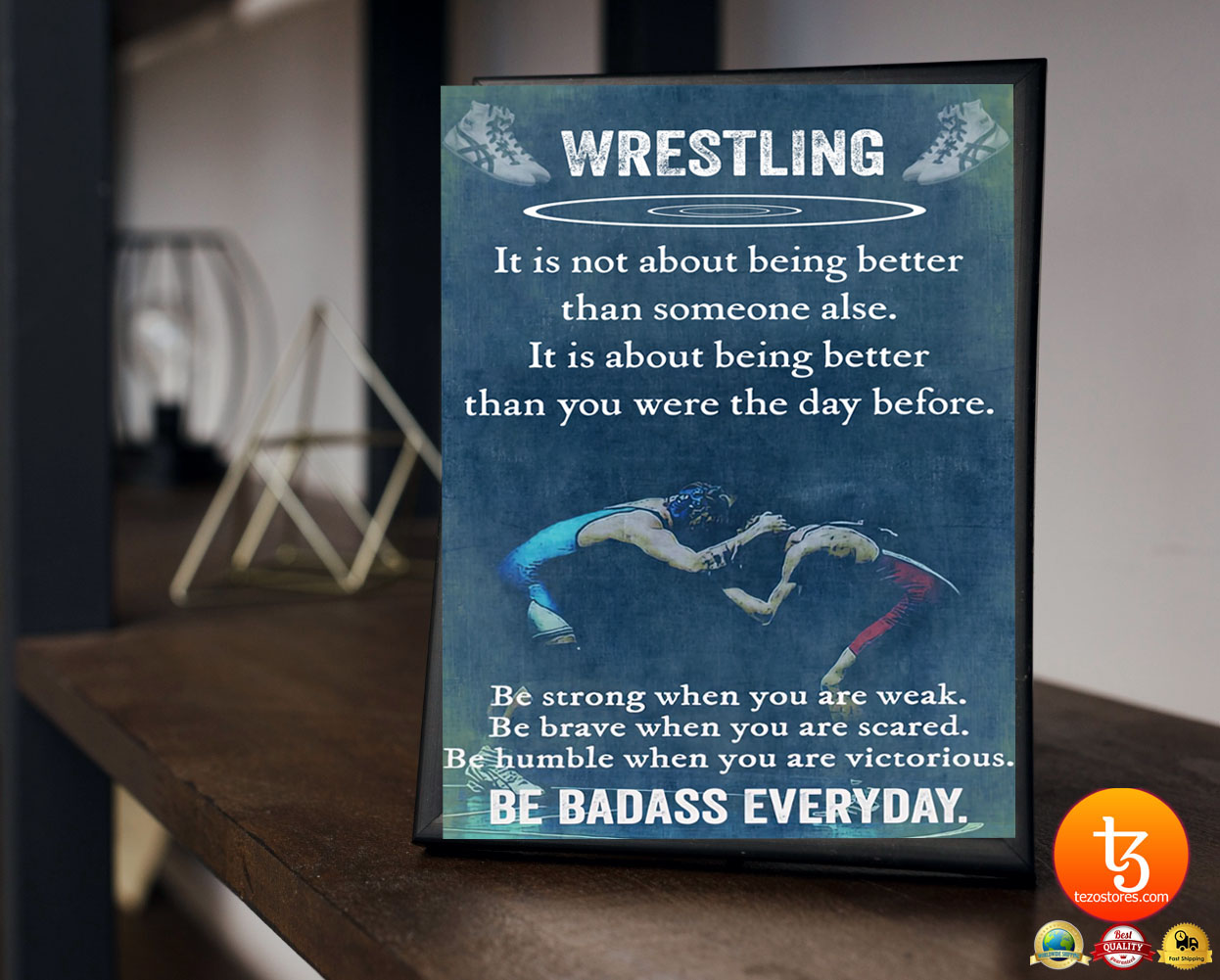 Wrestling it is not about being better than someine else poster 23