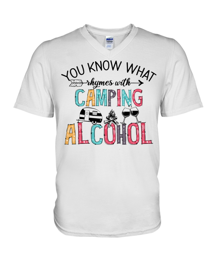You Know What Camping Alcohol Shirt 2