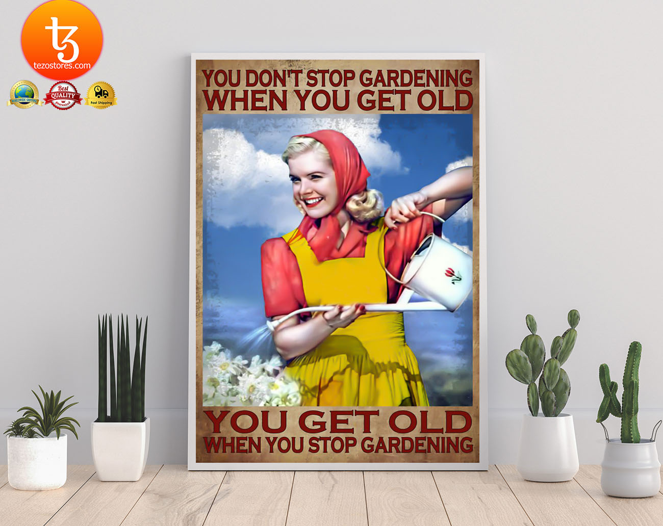 You don't stop gardening when you get old poster 19