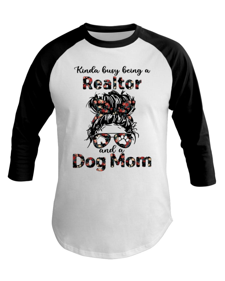 Kinda Busy Being A Realtor And A Dog Mom Shirt 3