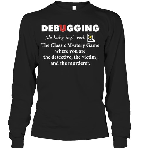 Debugging the classic mystery game Shirt 2
