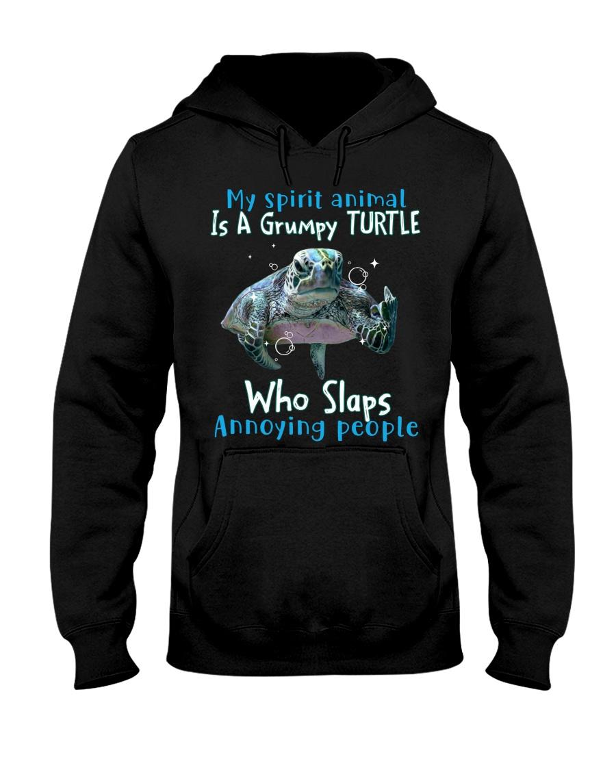 Turtle My spirit animal is a grumpy Turtle who slaps annoying people Shirt 19