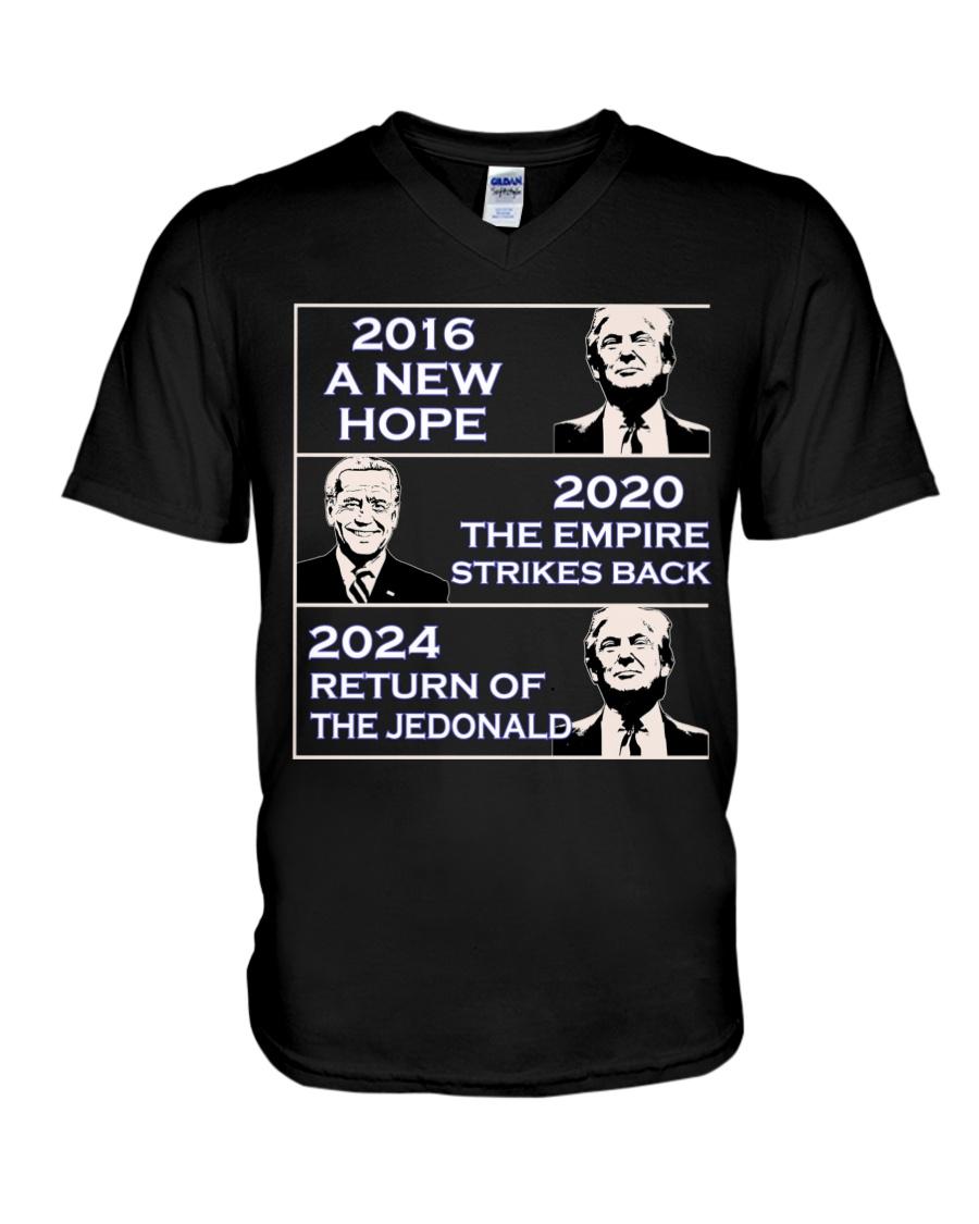 America 2016 A New 2020 The Empire Strikes Back 2024 Return Of The Jedonald Shirt 19