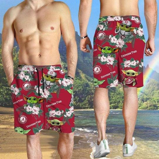 Kansas State Wildcats Yoda Hawaiian And Beach Short 2