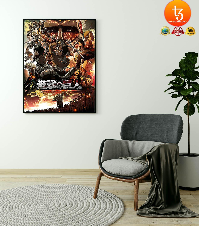 Attack on Titan Japanese Anime poster 23