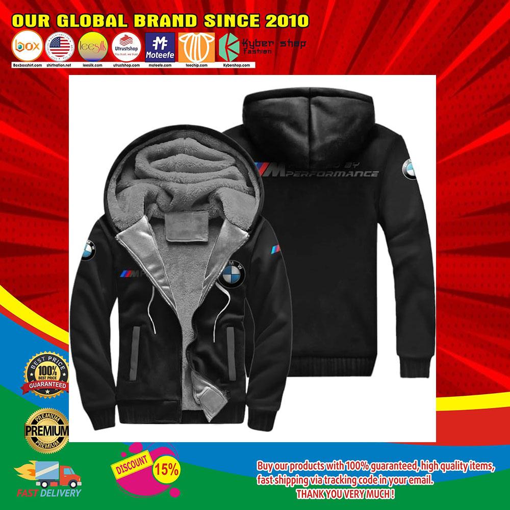 BMW Performance fleece hoodie1