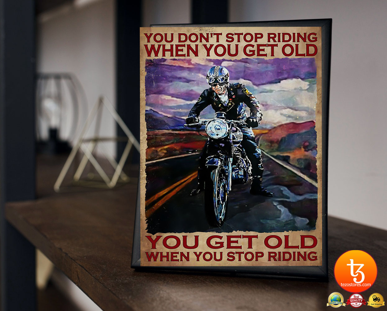 You don't stop riding when you get old poster 2