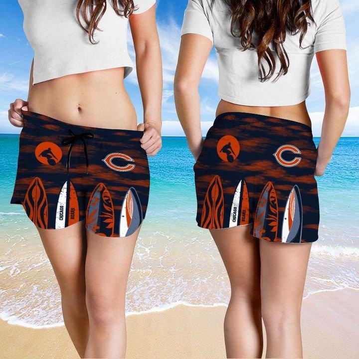Chicago Bears Hawaiian shirt And Beach SHORT 19