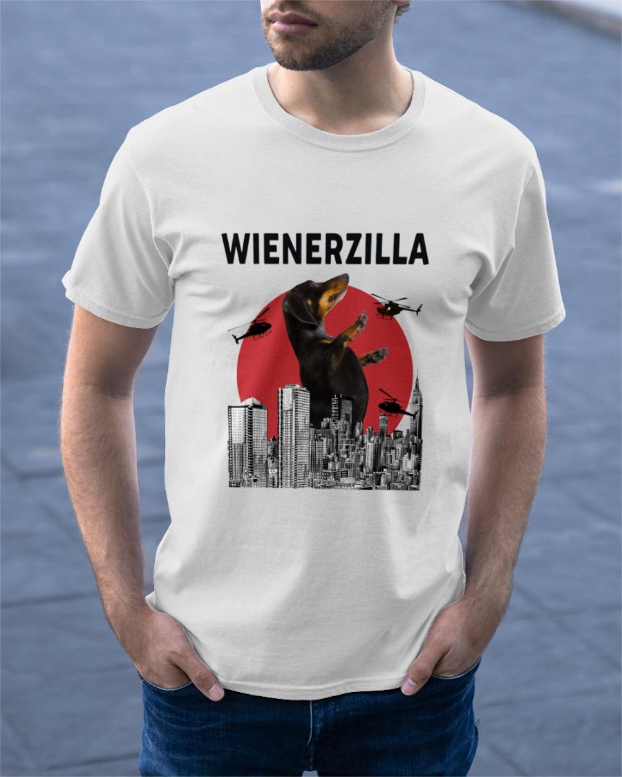 Dachshund Wienerzilla Shirt 23