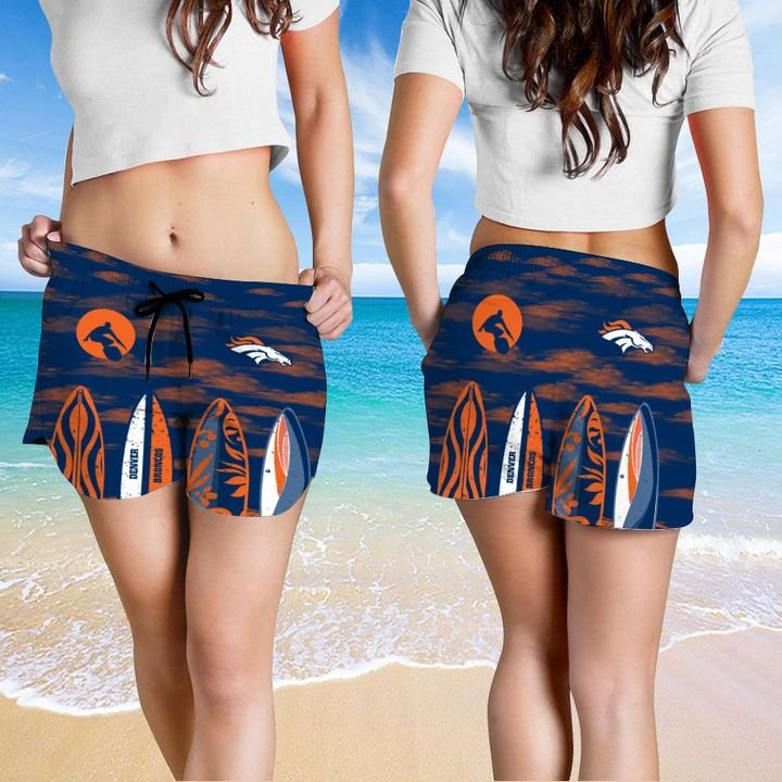 Denver Broncos Hawaiian shirt And Beach SHORT 4
