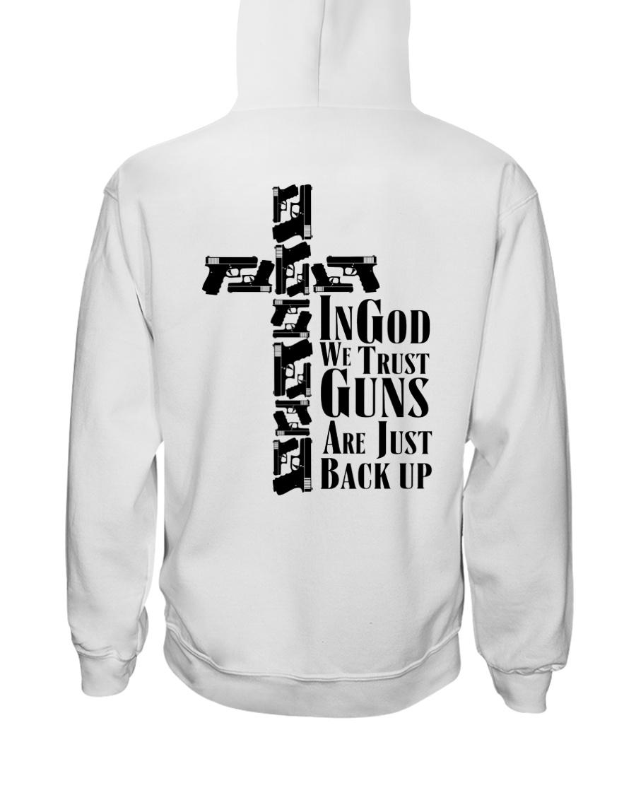 Guns Tingod We Trust Guns Are Just Back Up Shirt 23