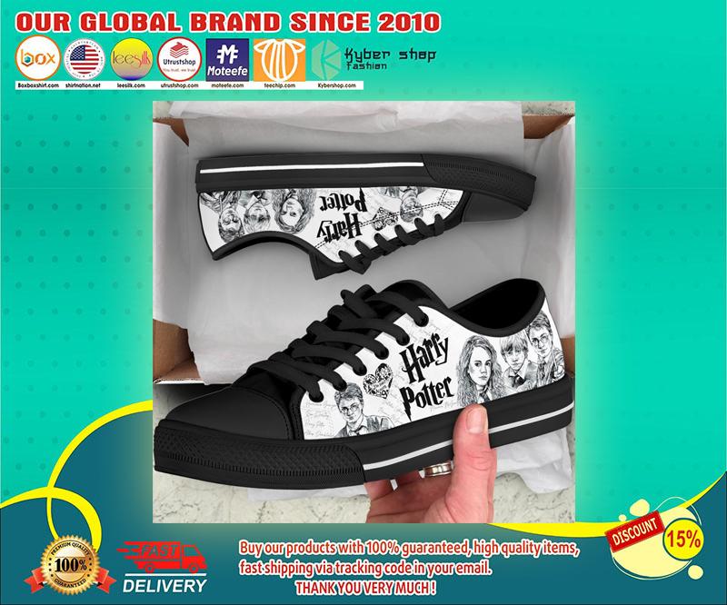Harry Potter low top canvas shoes 4