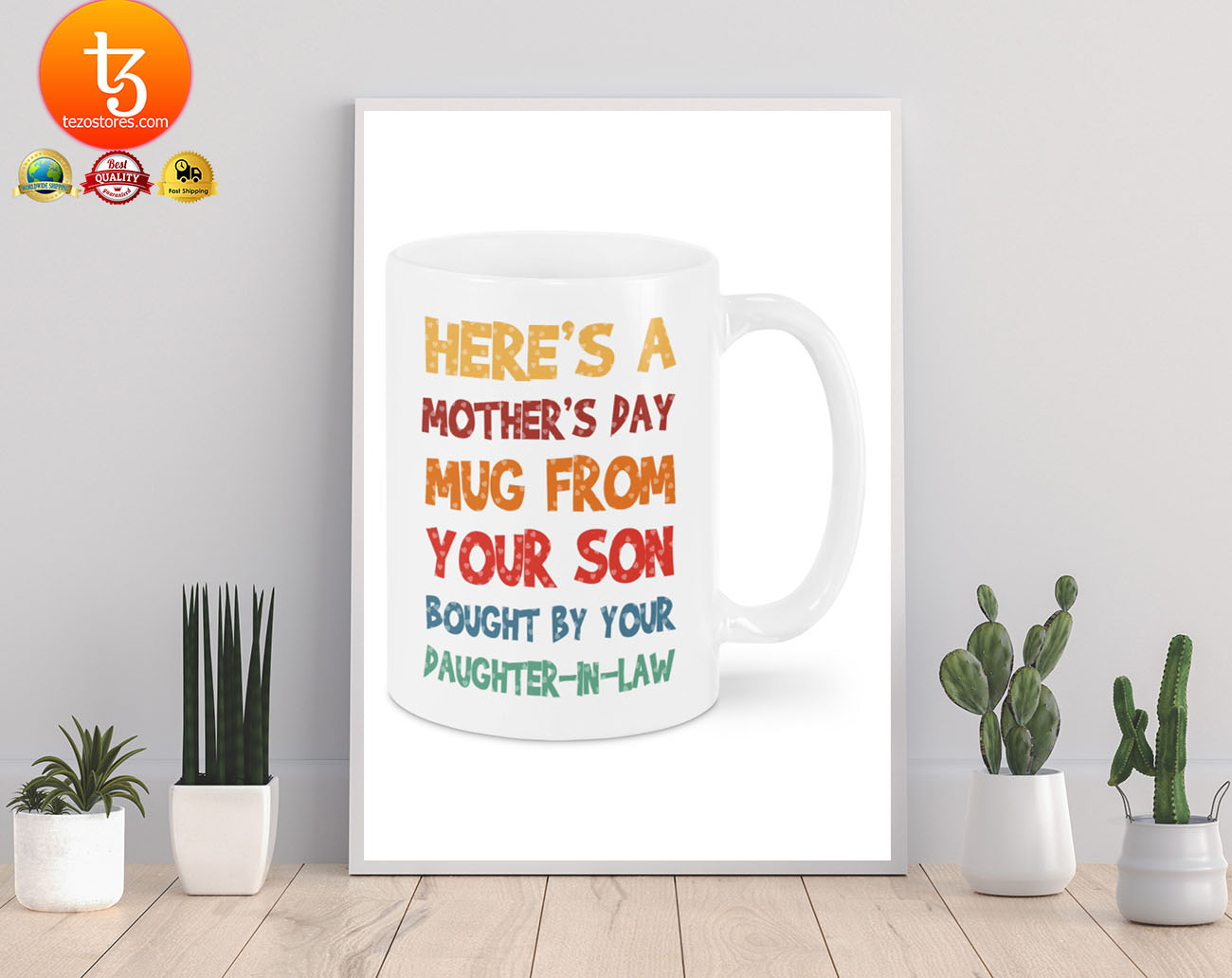 Here's a mother's day mug from your son mug 19