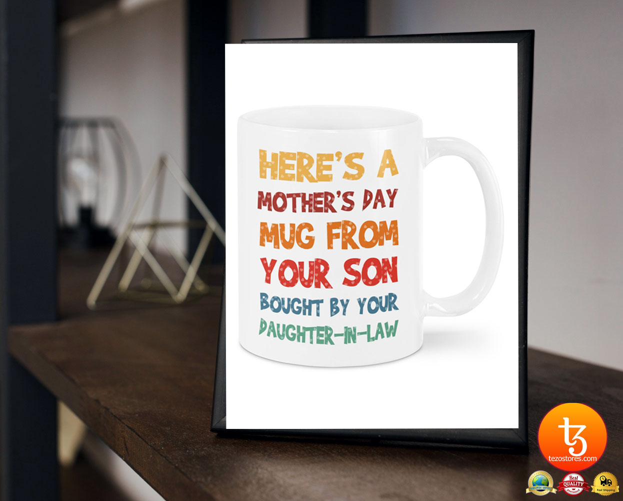 Here's a mother's day mug from your son mug 17