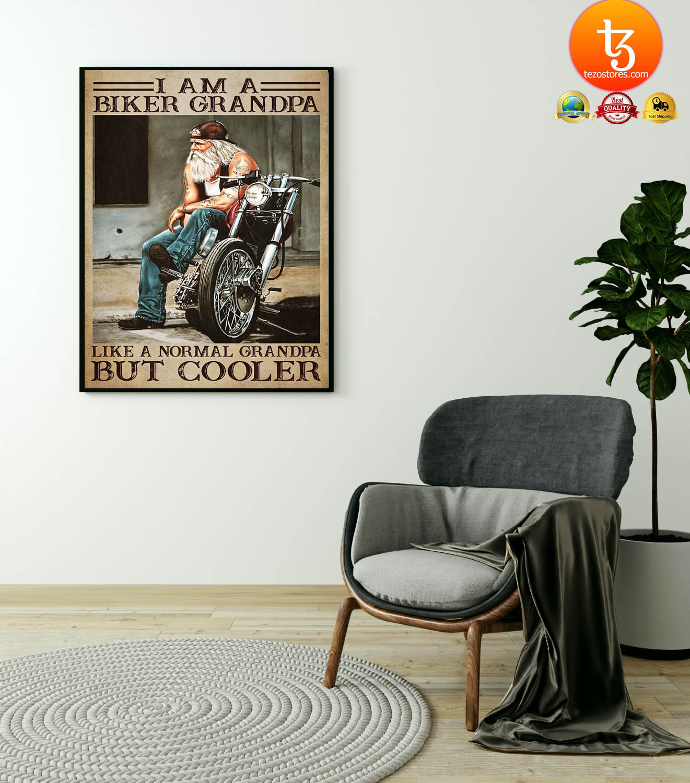 I am a biker grandpa like a normal grandpa but cooler poster 4