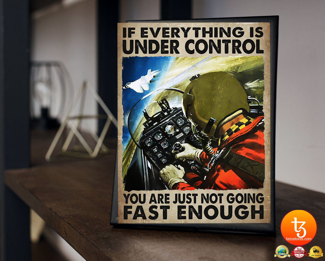 If everything is under control you are just not going fast enough poster 22