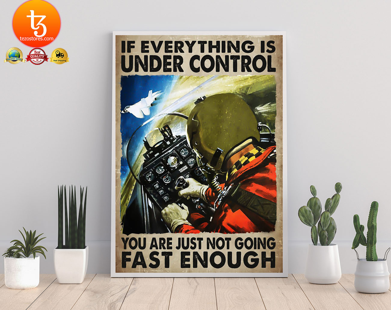 If everything is under control you are just not going fast enough poster 23