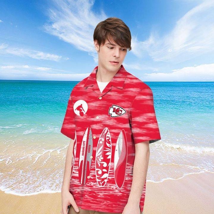 Kansas City Chiefs Hawaiian shirt And Beach SHORT 5