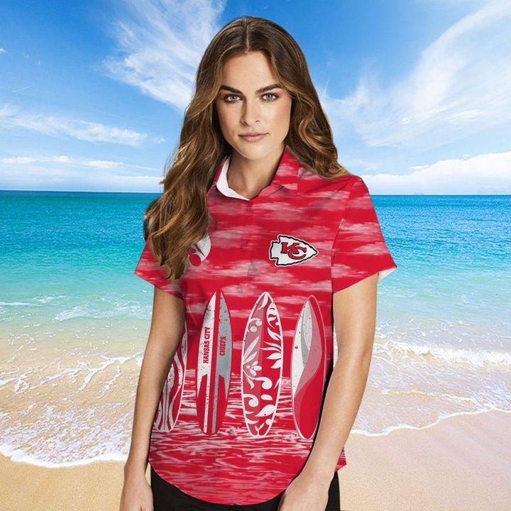 Kansas City Chiefs Hawaiian shirt And Beach SHORT 4