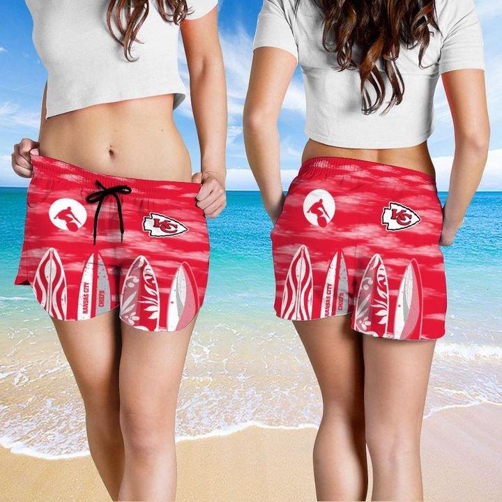 Kansas City Chiefs Hawaiian shirt And Beach SHORT 2