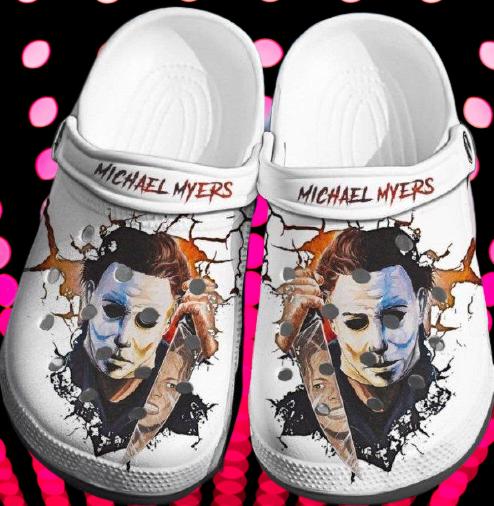 Michael Myers Crocband Crocs Clog Shoes 4