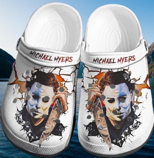 Michael Myers Crocband Crocs Clog Shoes 2
