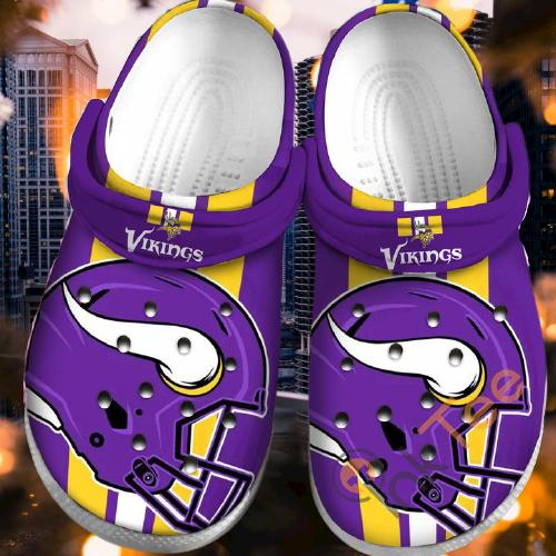 Minnesota Vikings Sku35 Crocs Clog Shoes 2
