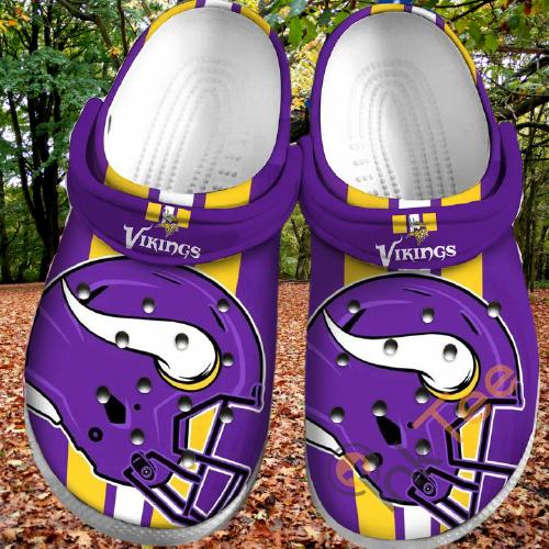 Minnesota Vikings Sku35 Crocs Clog Shoes 1