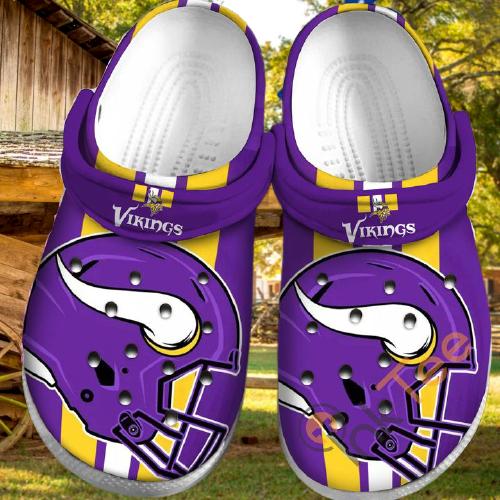 Minnesota Vikings Sku35 Crocs Clog Shoes 3