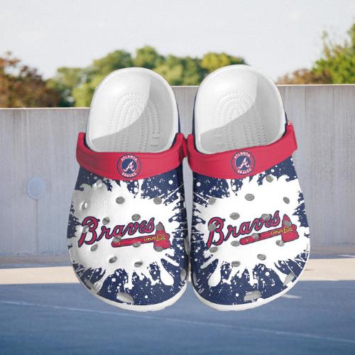 Mlb Atlanta Braves Crocs Clog Shoes 14