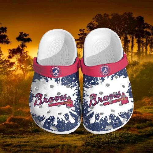 Mlb Atlanta Braves Crocs Clog Shoes 3