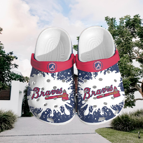 Mlb Atlanta Braves Crocs Clog Shoes 2