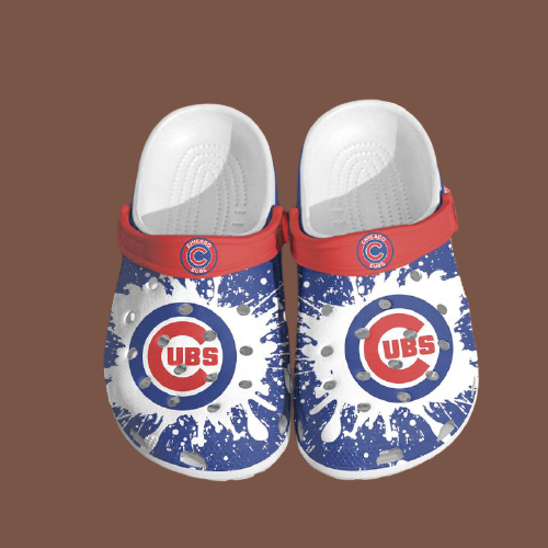 Mlb Chicago Cubs Crocs Clog Shoes 4