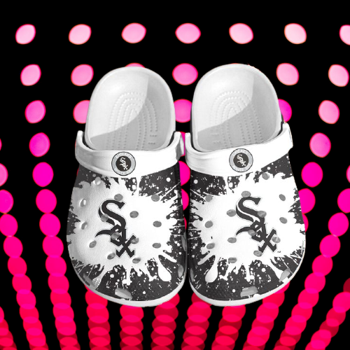 Mlb Chicago White Sox Crocs Clog Shoes 5