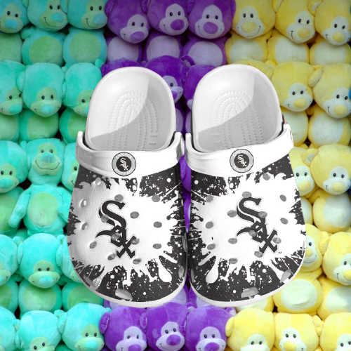 Mlb Chicago White Sox Crocs Clog Shoes 16