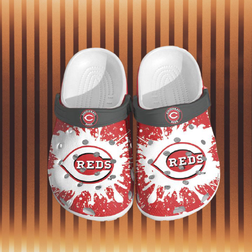 Mlb Cincinati Reds Crocs Clog Shoes 4