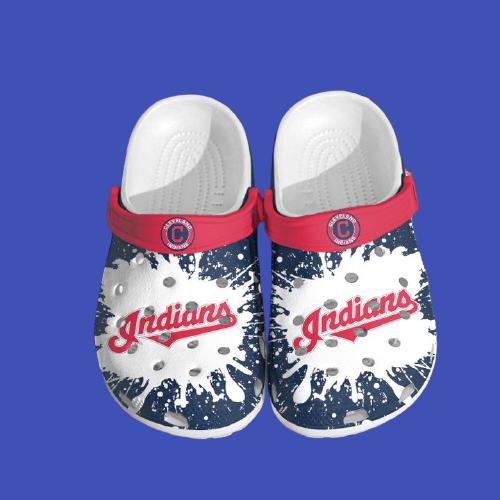 Mlb Cleveland Indians Crocs Clog Shoes 14