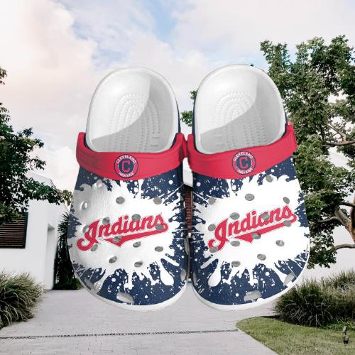 Mlb Cleveland Indians Crocs Clog Shoes 2
