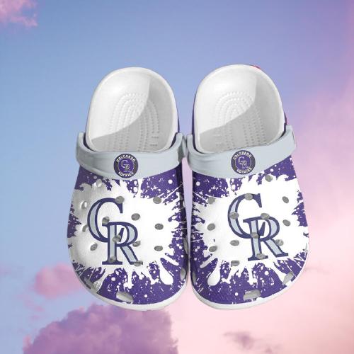 Mlb Colorado Rockies Crocs Clog Shoes 5