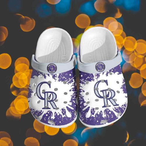 Mlb Colorado Rockies Crocs Clog Shoes 3