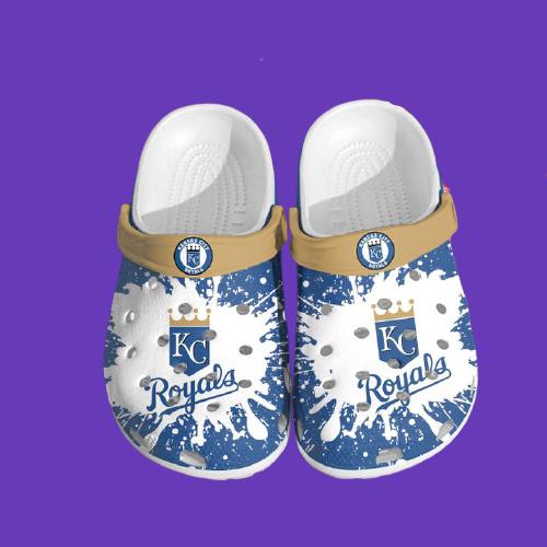 Mlb Kansas City Royals Crocs Clog Shoes3