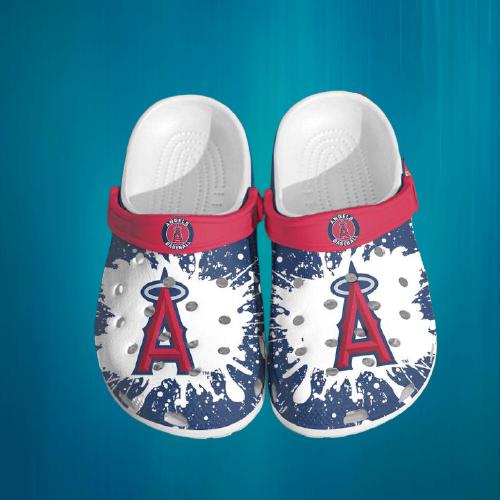 Mlb Los Angeles Angel Crocs Clog Shoes5