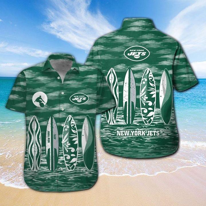 New York Jets Hawaiian shirt And Beach SHORT 5